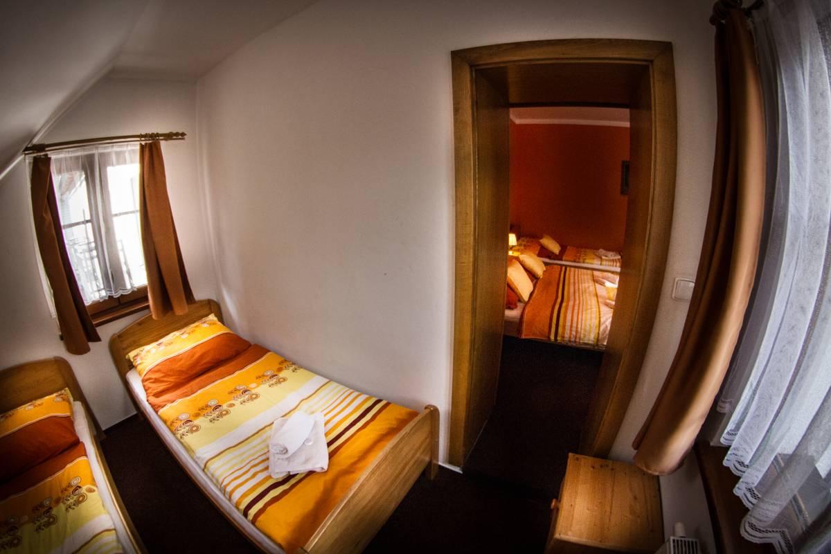 Horský hotel Sněženka - Pětilůžkový pokoj