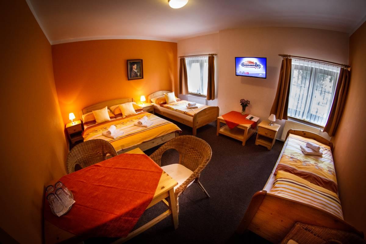 Horský hotel Sněženka - Čtyřlůžkový pokoj