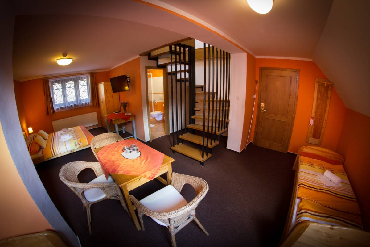 Horský hotel Sněženka - Mezonetový apartmán