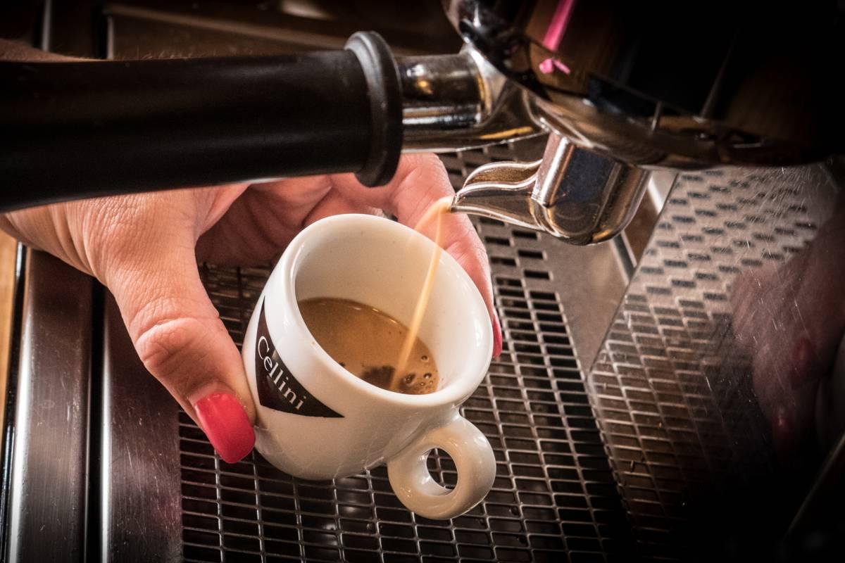 Kvalitní káva Hotel Sněženka